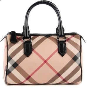 Burberry Bags - Burberry Nova Check Chester Bowling Bag 63b67130bd0f7